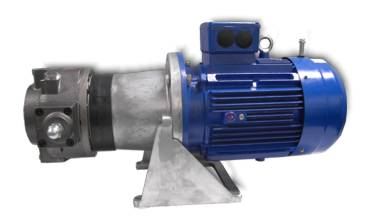 Moog RKP hydraulic pump, radial piston pump
